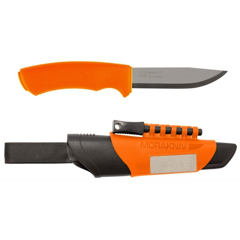 MORA BushCraft Survival Orange peilis