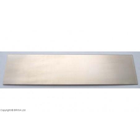 Naujasidabris (nickelsilver) 1.5x50x200