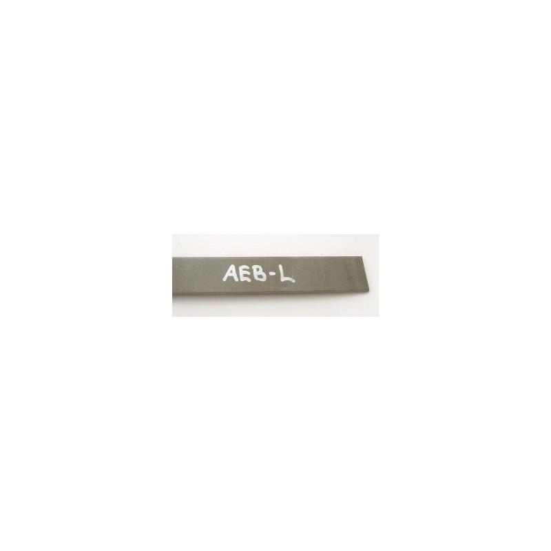 Plienas geležtėms AEB-L 3x45x500 mm