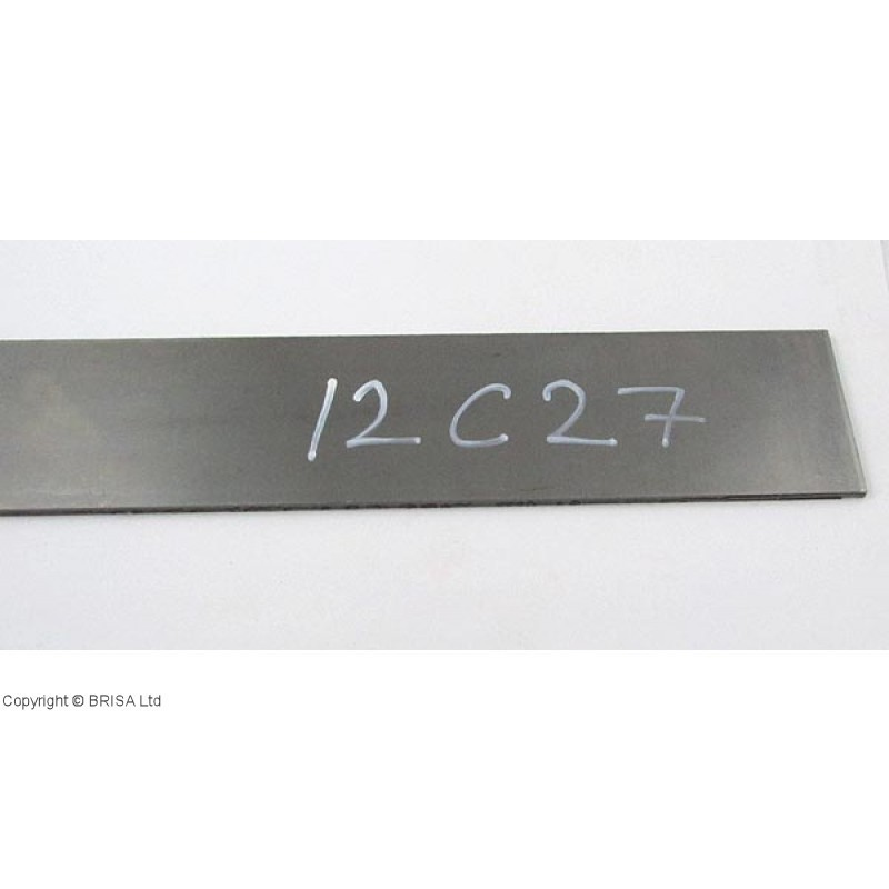 Plienas geležtėms Sandvik 12C27 4x250x360 mm