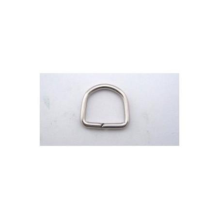 D formos žiedas Nickel -17 mm/10pc