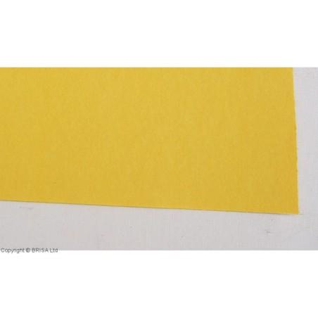 Vulkanizuota fibra 0,8 mm geltona