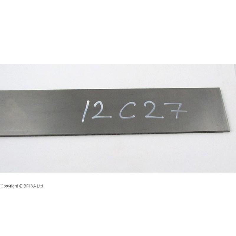 Plienas geležtėms Sandvik 12C27 2,5x50x500 mm