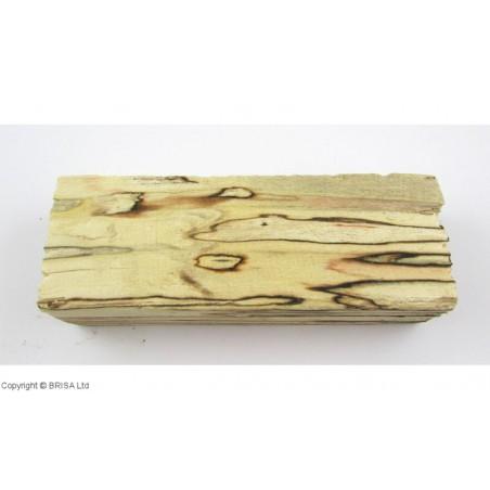 Mediena rankenai Spalted birch