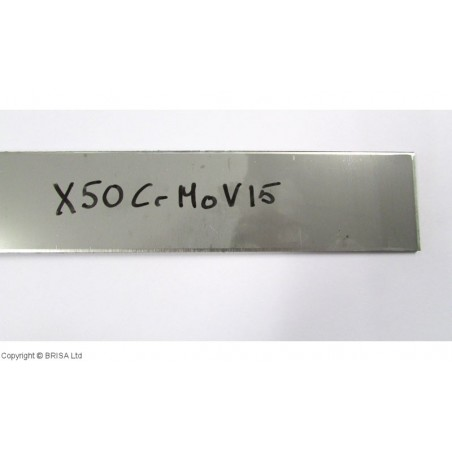 Plienas geležtėms X50CrMoV15 3x50x250 mm