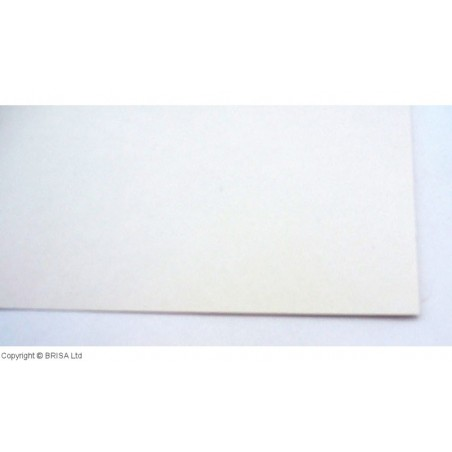 Vulkanizuota fibra 0,8 mm balta