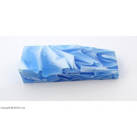 Akrilas mėlynas/baltas ledas