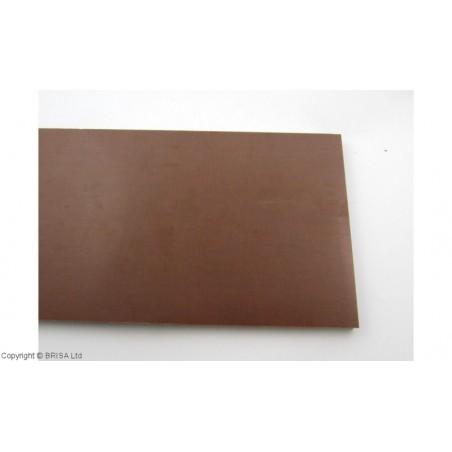 Medvilnės pluoštinys (Micarta) Brown Linen Large