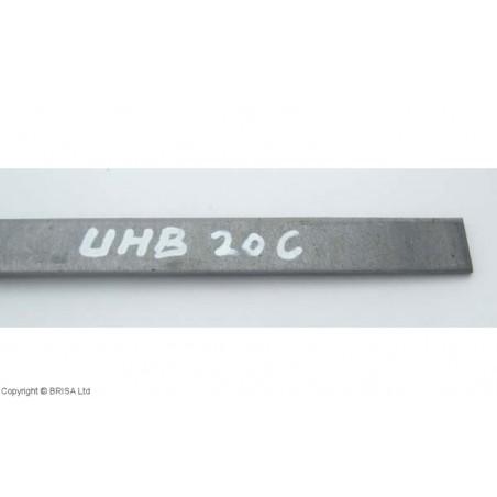 Plienas geležtėms UHB20C / 3,5 x 40 x 250