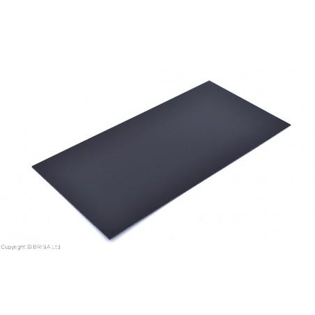 Stiklo pluoštinys G-10 Black Spacer 0,8mm