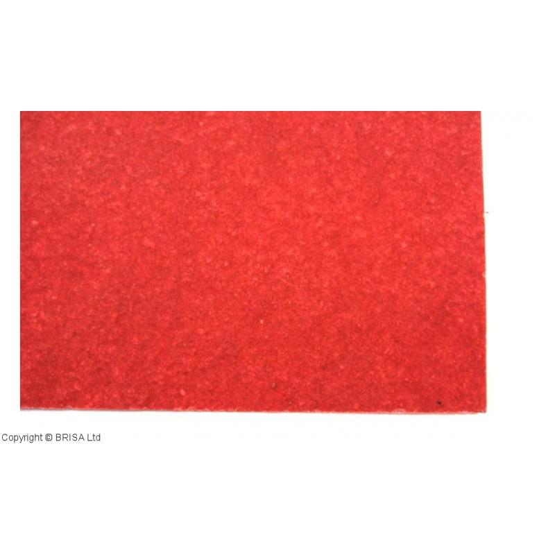 Vulkanizuota fibra 1 mm raudona