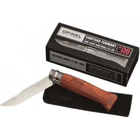 Opinel Nr.8 Luxe nerūdijančio plieno peilis