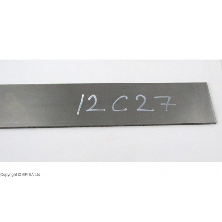 Plienas geležtėms Sandvik 12C27 4x50x250 mm
