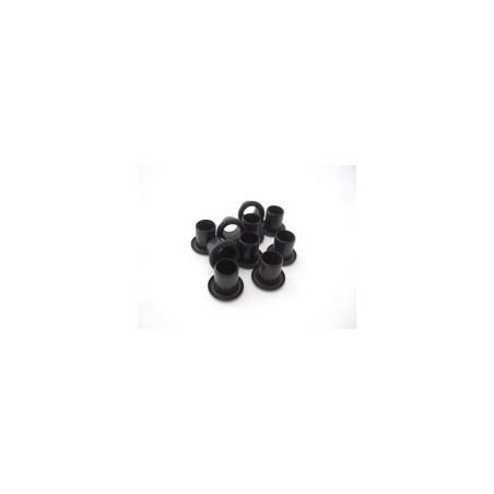 Kydex1/4  akutės (kniedės) juodos 7,4x6,3mm/10vnt