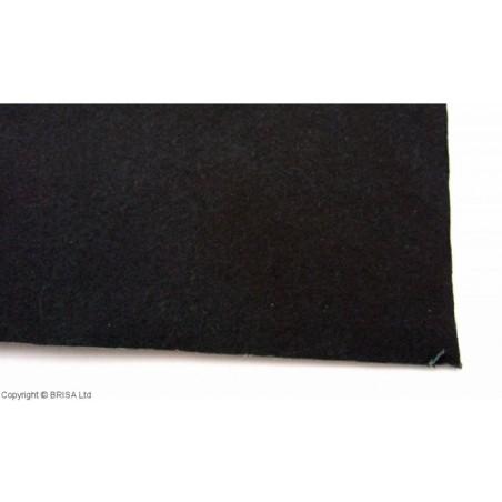 Vulkanizuota fibra 1,5 mm juoda
