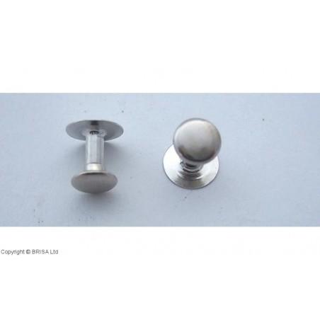 Kniedė Nickel 7x7mm / 100 vnt