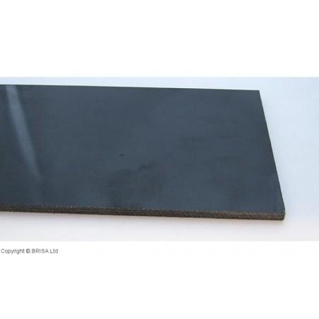 Medvilnės pluoštinys (Micarta) juodas canvas