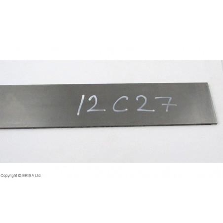 Plienas geležtėms Sandvik 12C27 4x50x500 mm