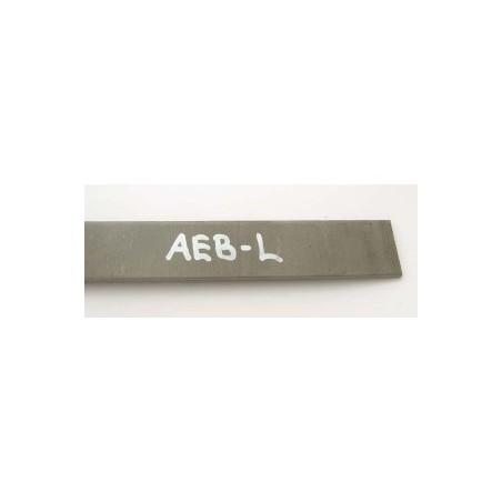 Plienas geležtėms AEB-L 3x45x250 mm