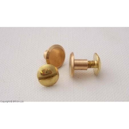 Kniedė su sriegiu Chicago Brass -9x5 mm/10