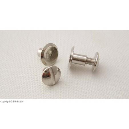 Kniedė su sriegiu Chicago Nickel -9x5 mm/10