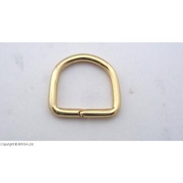D formos žiedas Brass -17...