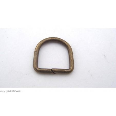 D formos žiedas Antique-17 mm/10pc
