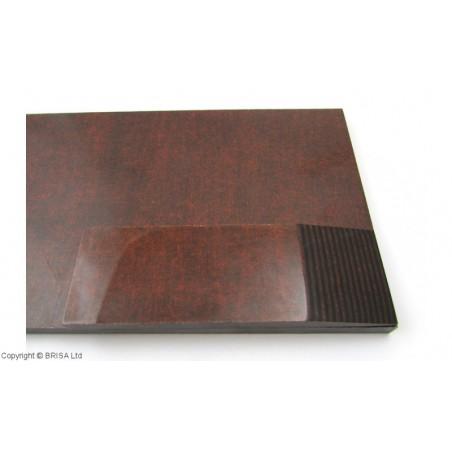 Medvilnės pluoštinys (Micarta) Mocca/Black  8mm