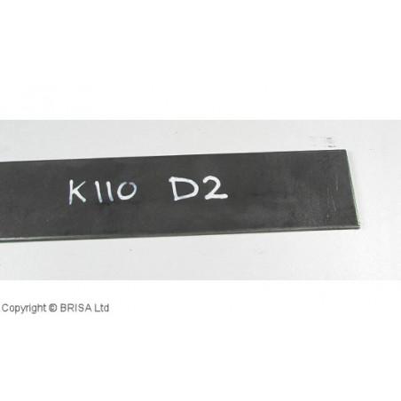 Plienas geležtėms D2 3.5x45x500 mm