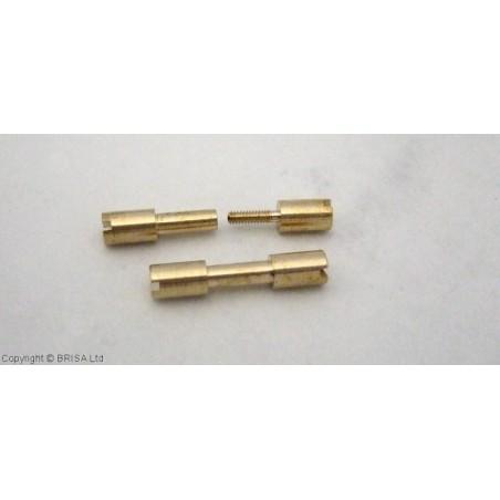 Žalvarinė Corby kniedė  Micro 3/16 1vnt.