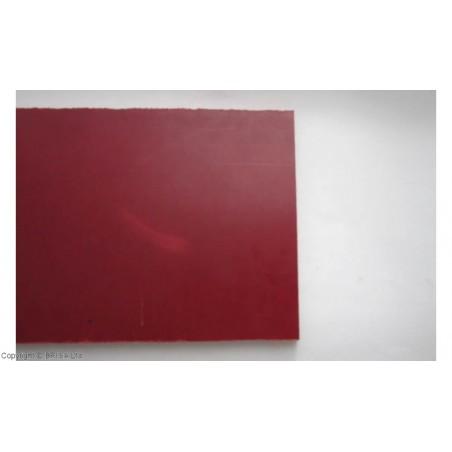 Lino pluoštinys (Micarta) Red Linen Large