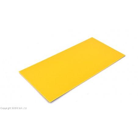 Stiklo pluoštinys G-10 Spacer yellow 0.8 mm