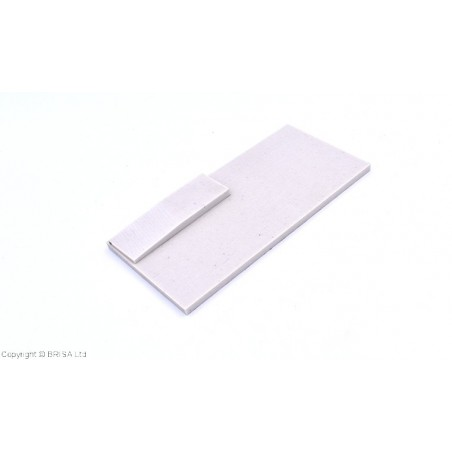 Medvilnės pluoštinys (Micarta) Off White large