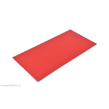 Stiklo pluoštinys G-10 Red Spacer 0,8mm