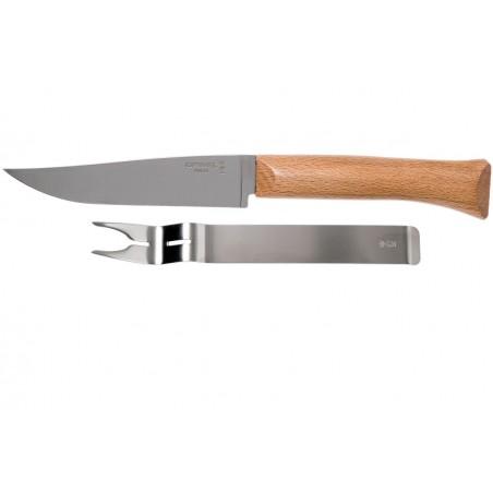 Opinel peilio ir šakutės rinkinys sūriui