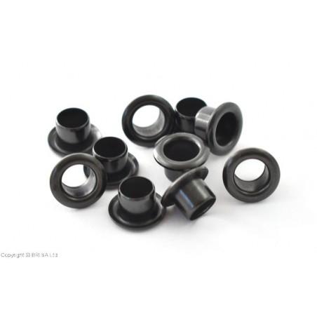 Kydex1/4  akutės (kniedės) juodos 5,8x6,3mm/10vnt