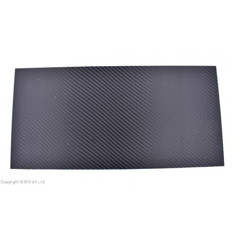 Holstex Carbon Fiber Black 1.5 mm ( 0.060) 15x30 cm