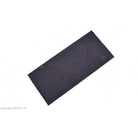 Vulkanizuota fibra 2mm juoda mažas