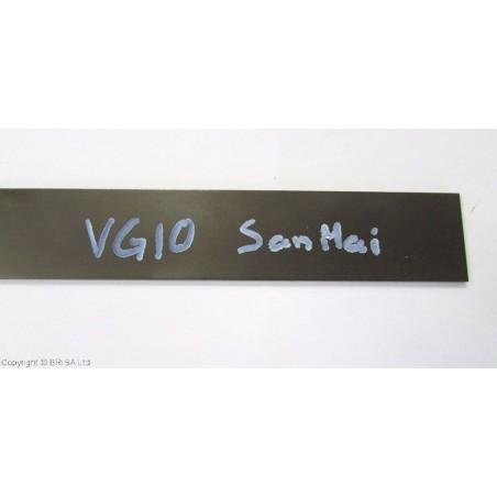 Plienas geležtėms VG10 SanMai 3x40x200