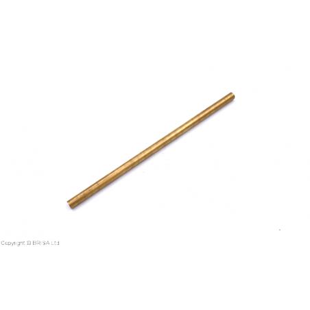 Žalvario (brass) strypelis 10x200