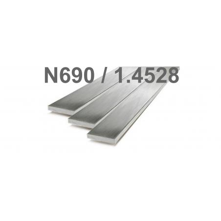 Plienas geležtėms N690/1.4528  2,5x50x500mm