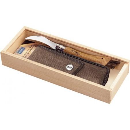 Opinel Nr.8 grybautojo peilis dovanų dėžutėje